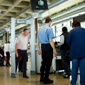 Walk-Through Metal Detectors for Security Screening