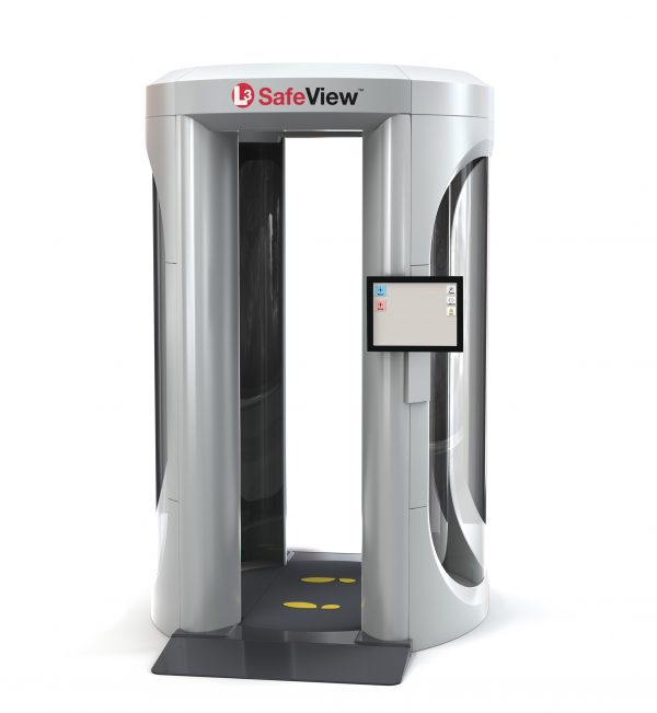 L3 SafeView Personnel Screening for Full Body Imaging